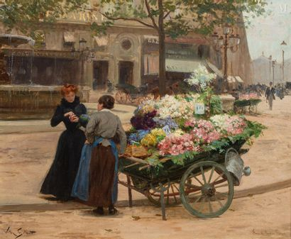 VICTOR GILBERT (Paris 1847 - 1933)