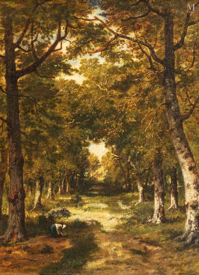 Narcisse  VIRGILE DIAZ DE LA PENA (Bordeaux 1807- Menton 1876)