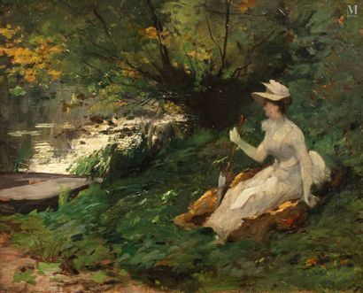 Emma LOWSTEDT  CHADWICK (Stockholm 1855-Villeneuve-lès-Avignon 1932)