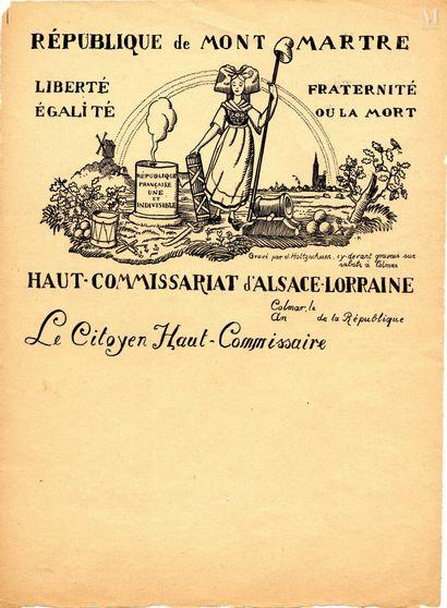 Jean-Jacques WALTZ dit HANSI (Colmar 1873-1951)
