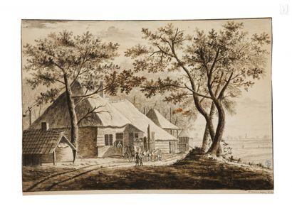 Willem van den LINDEN (actif à Dordrecht vers 1765)