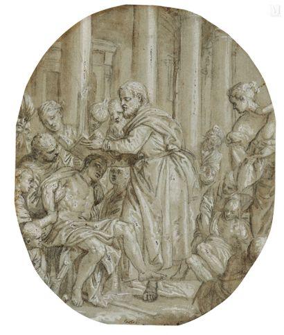 Attribué à Carletto CALIARI (Venise 1570 – 1596)