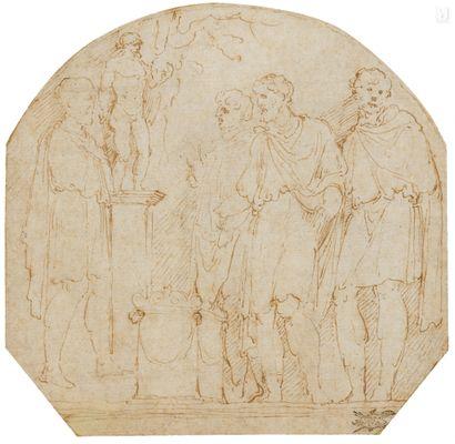Attribué à Girolamo da CARPI (Ferrare 1501-1556)