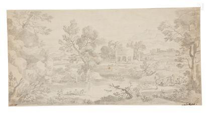 Ecole d'Adriaen VAN DER CABEL (Ryswick 1631 – Lyon 1705)
