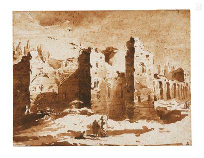 Attribué à Jacob van der ULFT (Gorinchem 1621 – Noordwijk 1689)