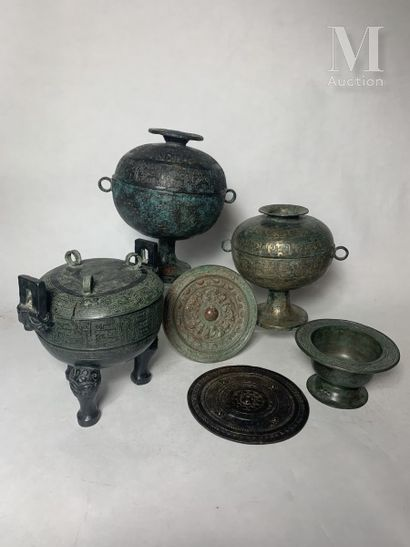 CHINE, Dans le style archaïque, XXe siècle