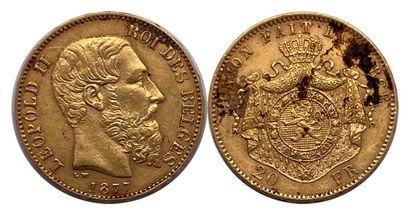 Belgique - Léopold II (1865 - 1909)  Une...