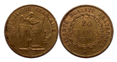 France - Troisième République  Une monnaie...