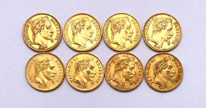 France - Napoléon III (1808-1873)  Lot de...