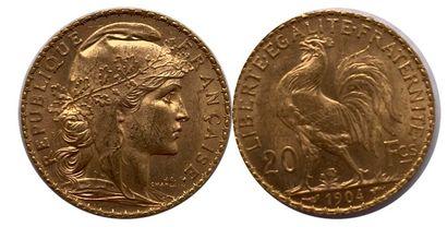 France - Cinquième République  Une monnaie...