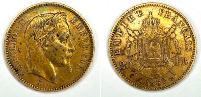 France – Napoléon III (1852-1870)  Une monnaie...