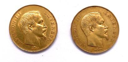 France - Napoléon III (1852 - 1870)  Lot...
