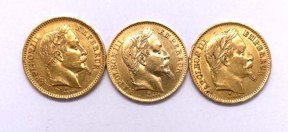 France - Napoléon III (1851 – 1870)  Lot...