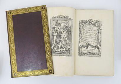 LUCRECE (Titius Lucretius Carus). Della natura delle cose libri sei. Tradotti dal...