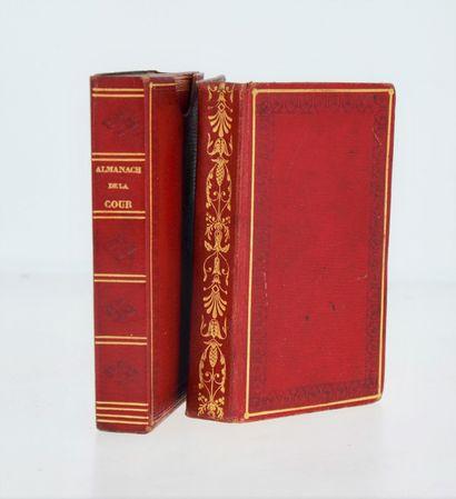 Almanac. Almanach de la cour, de la ville et des départemens pour l'année 1832....
