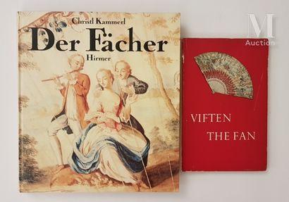 """Ensemble de documentation *KAMMERL Christl, """"Der fächer, Kunstobjekt und Billetdoux"""",..."""