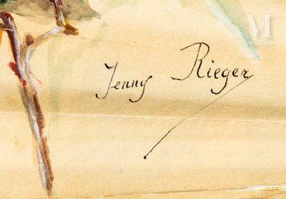 Jenny Giot-Riéger, Femme alanguie, vers 1890-1900 Jenny Giot-Riéger, Femme alanguie,...