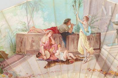 A.Ledoux, La danseuse orientale, vers 1880-1890