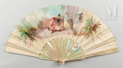 A.Ledoux, La danseuse orientale, vers 1880-1890 A.Ledoux, La danseuse orientale,...
