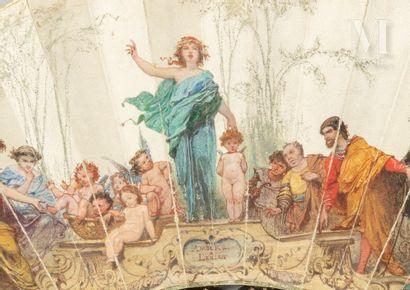 Auguste Barthélémy Glaize (1807-1893), Amours à l'encan, 1864