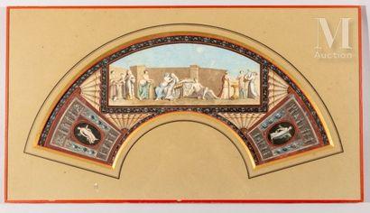 Les noces aldobrandines, fin du XVIIIe siècle