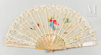 La charmeuse de papillons, vers 1890-1900