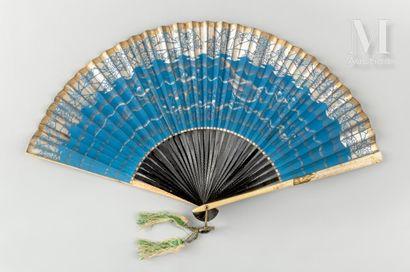 Phénix, Japon, XIXe siècle Phénix, Japon, XIXe siècle  Éventail plié, la feuille...
