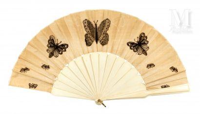 Papillons, papillons, vers 1880