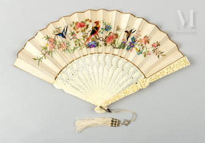 Faisans brodés, Chine, XIXe siècle Faisans brodés, Chine, XIXe siècle Poids/CITES...