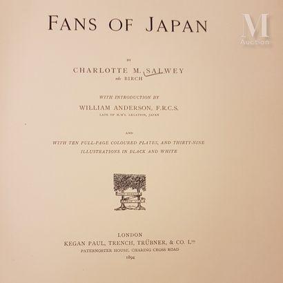 Ensemble de documentation *SALVEY, Charlotte, « Fans of Japan », London, Paul Kegan,...
