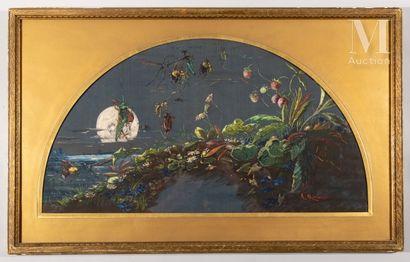 A.Marinier, La danse des scarabées, vers 1890