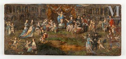 L'Amour gouverne le monde, fin XVIIe-début du XVIIIe siècle