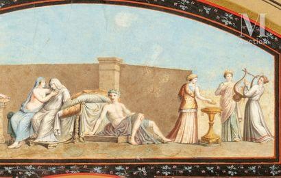 Les noces aldobrandines, fin du XVIIIe siècle Les noces aldobrandines, fin du XVIIIe...