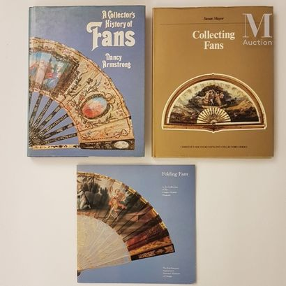 """Ensemble de documentation *""""Folding fans in the collection of the Cooper-Hewitt museum"""",..."""
