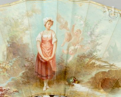L. Fournier, Perrette et le pot au lait, vers 1880-1890 L. Fournier, Perrette et...