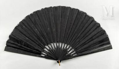 « La Loïe Fuller », vers 1900 « La Loïe Fuller », vers 1900  Éventail plié, la feuille...