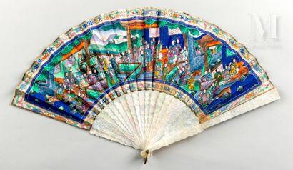Pour Dolores Mendez, Chine, vers 1850 Pour Dolores Mendez, Chine, vers 1850  Exceptionnel...