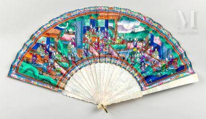 Pour Dolores Mendez, Chine, vers 1850