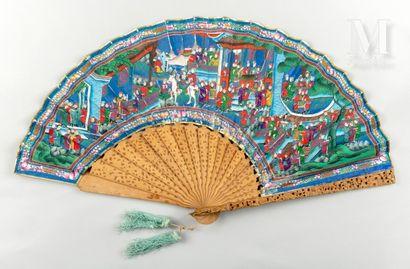 Asymétrique, Chine, XIXe siècle