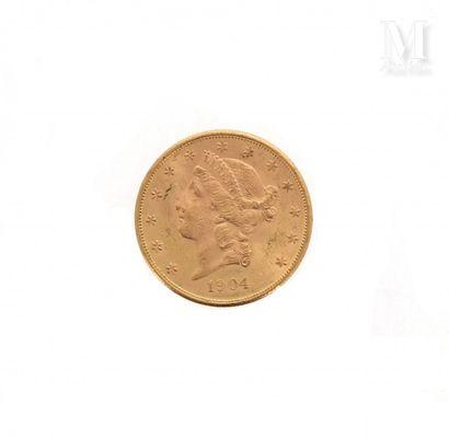 Pièce 20 Dollars or