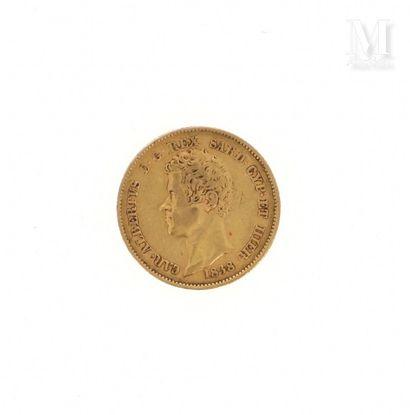 Pièce 20 Lire or