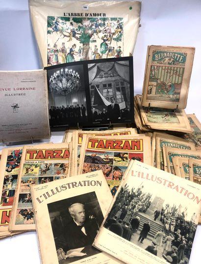 Lots de nombreuses revues anciennes dont...