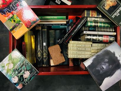 Fort lot de livres divers et variés dont :