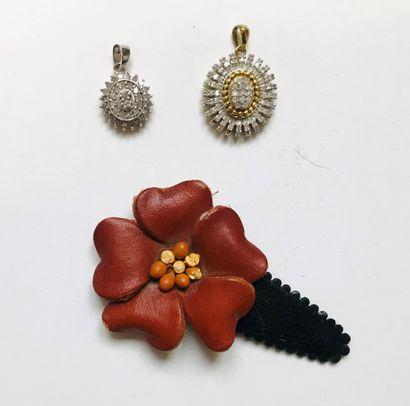 Ensemble de bijoux fantaisie comprenant