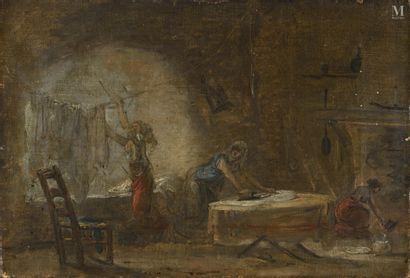 *ECOLE FRANÇAISE VERS 1780, ENTOURAGE D'HUBERT ROBERT