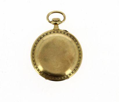VACHERON-CONSTANTIN GENÈVE Magnifique grande montre de poche du début du XXè en or...