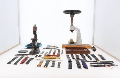 Lot d'outils horloger