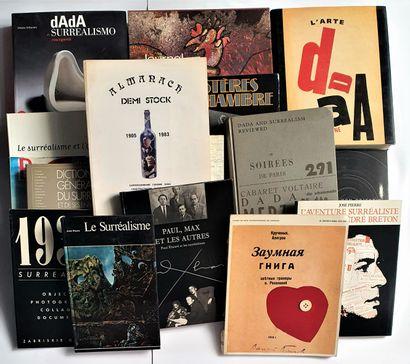 DADAISME & SURREALISME: 16 ouvrages
