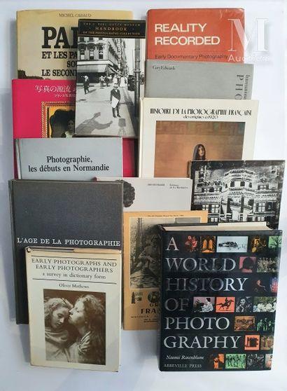 HISTOIRE DE LA PHOTOGRAPHIE: 13 ouvrages et catalogues