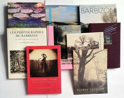 ECOLE DE BARBIZON : 9 ouvrages et catalogues